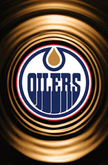 Edmonton Oilers Official Logo Poster - Costacos 2006