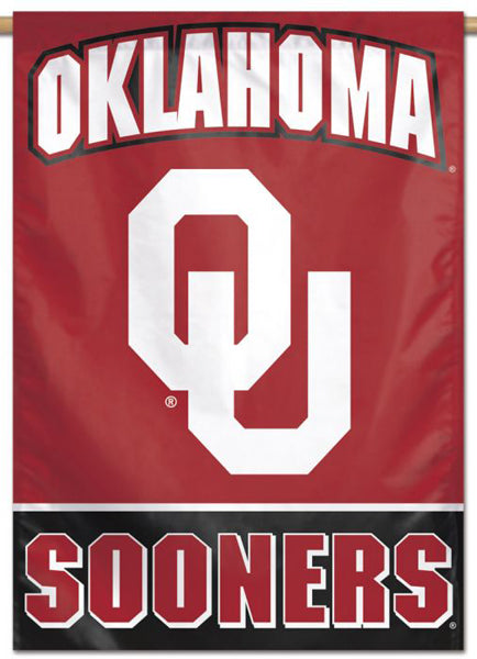 Oklahoma Sooners Official NCAA Team Logo NCAA Premium 28x40 Wall Banner - Wincraft Inc.