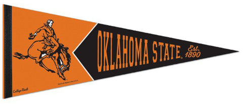Oklahoma State Cowboys NCAA College Vault 1950s-Style Premium Felt Collector's Pennant - Wincraft Inc.
