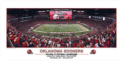 "Oklahoma Sooners ""Big 12 Champs"" (Cowboys Stadium 2010) - Rick Anderson Inc."