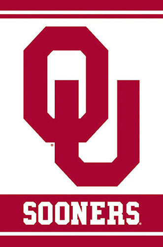 Oklahoma Sooners Official NCAA Team Logo Poster - Costacos Sports
