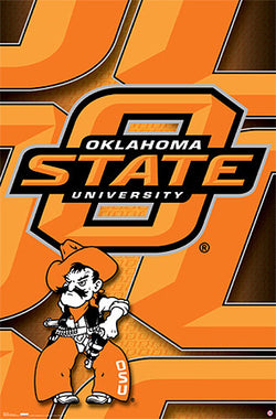 Oklahoma State Cowboys Official NCAA Team Logo Poster - Costacos Sports