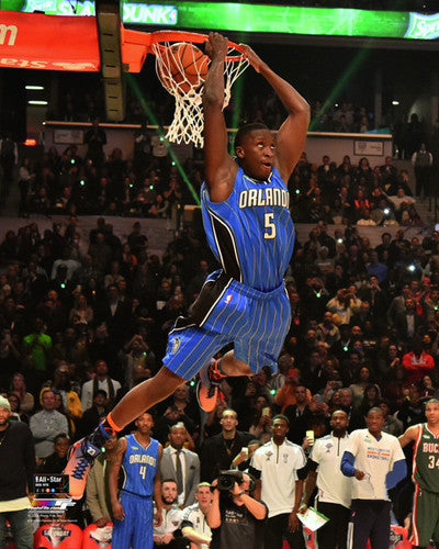 "Victor Oladipo ""360-Reverse-Slam"" Orlando Magic Premium Poster Print - Photofile 16x20"