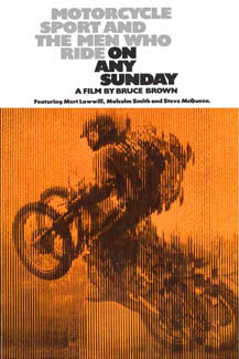 On Any Sunday Motocross Movie Dirt Bike Racing Poster - Pyramid