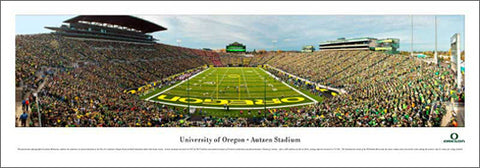 "University of Oregon ""End Zone"" (2011) Autzen Stadium Panorama - Blakeway"