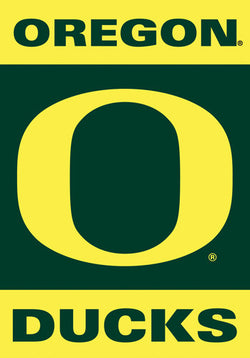 Oregon Ducks Premium NCAA Team Logo 28x40 Banner - BSI Products Inc.