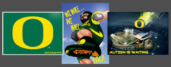 "Oregon Ducks ""Football Spirit"" 3-Poster Combo Set - Team Spirit Posters"
