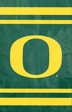Oregon Ducks Official NCAA Premium Applique Team Banner Flag - Party Animal