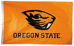 Oregon State Beavers Official NCAA Premium Nylon Applique 3'x5' Flag - BSI Products Inc.