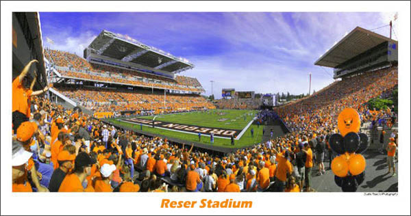 Oregon State Beavers Reser Stadium Panorama - Curtis Reed