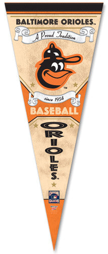 "Baltimore Orioles ""Since 1954"" Premium Pennant - Wincraft"