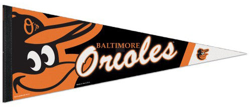 Baltimore Orioles Official MLB Logo-Style Premium Felt Collector's PENNANT - Wincraft Inc.