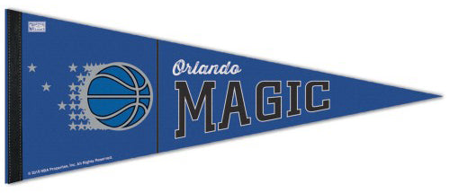 Orlando Magic Retro-1990s-Style NBA Basketball Premium Felt Pennant - Wincraft Inc.