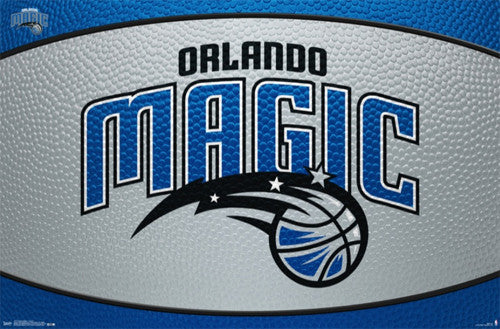 Orlando Magic NBA Basketball Official Team Logo Poster - Costacos 2014