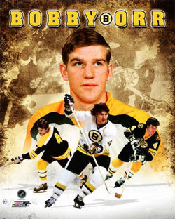 "Bobby Orr ""The Legend"" Boston Bruins Career Profile Premium Poster Print - Photofile Inc."