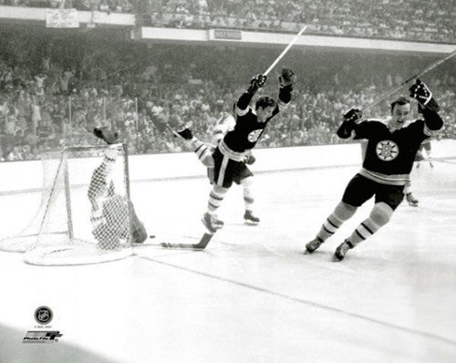 "Bobby Orr ""The Goal"" (1970 Stanley Cup) Boston Bruins Premium Poster Print - Photo File Inc."