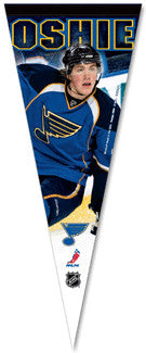 T.J. Oshie Premium Felt Collector's Pennant - Wincraft Inc.