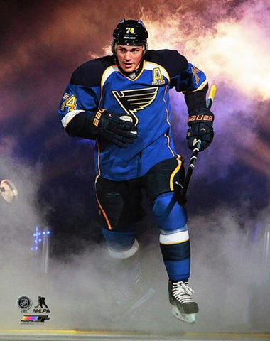 "T.J. Oshie ""Enter the Arena"" St. Louis Blues Premium Poster Print (2014) - Photofile 16x20"