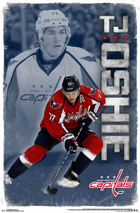 "TJ Oshie ""Superstar"" Washington Capitals NHL Hockey Wall Poster - Trends 2016"