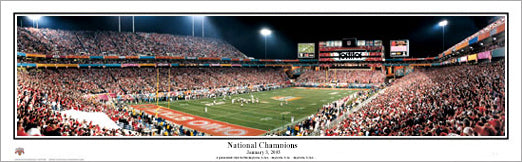 Ohio State Buckeyes 2002 National Champions Panorama - Everlasting Images