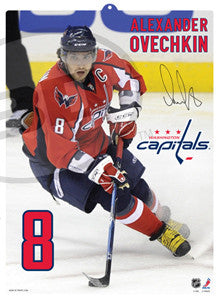 "Alex Ovechkin ""POPZ"" 3D Formed Plastic Poster (Large)"