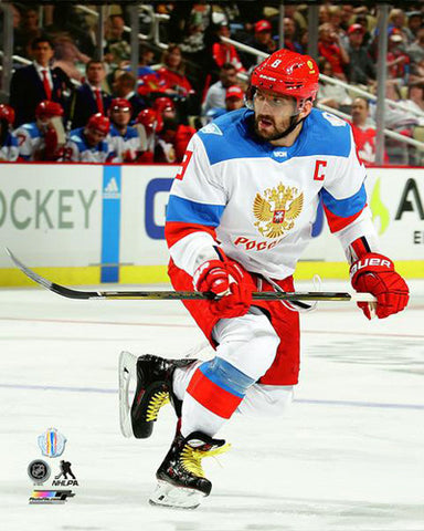 Alex Ovechkin Team Russia 2016 World Cup of Hockey Action Premium Poster Print - Photofile 16x20