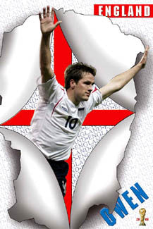 "Michael Owen ""Breakthrough"" - UK Posters 2006"