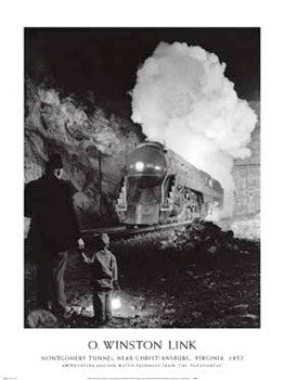 Steam Train in Virginia (O. Winston Link, 1957) - NYGS