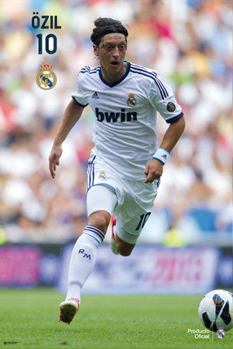 "Mesut Ozil ""Superstar"" Real Madrid Poster (2012/13) - G.E. (Spain)"