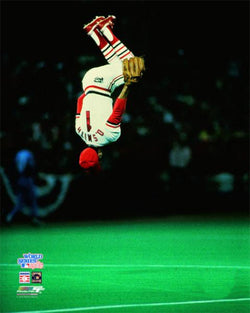 "Ozzie Smith ""Head over Heels"" 1985 World Series Premium Poster Print - Photofile Inc."