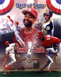"Ozzie Smith ""Cooperstown Classic"" St. Louis Cardinals Premium Poster Print - Photofile Inc."