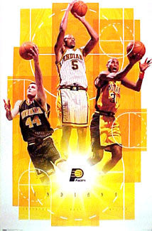 "Indiana Pacers ""Three Stars"" - Costacos 2000"