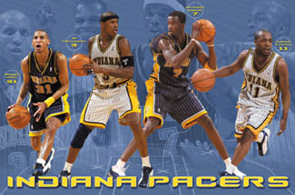"Indiana Pacers ""Four Stars"" - Costacos 2003"