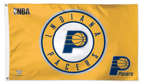 Indiana Pacers Official NBA Basketball Deluxe-Edition 3'x5' Team FLAG - Wincraft