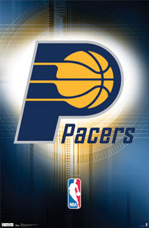Indiana Pacers Official NBA Team Logo Poster - Costacos Sports