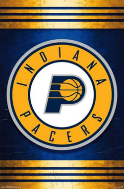 Indiana Pacers NBA Basketball Official Team Logo Poster - Costacos 2014