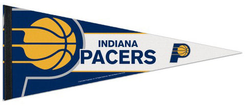 Indiana Pacers Official NBA Logo-Style Premium Felt Collector's Pennant - Wincraft