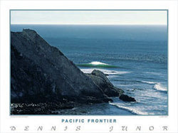 "Surfing ""Pacific Frontier"" California Coast Poster Print - Creation Captured"