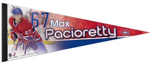 "Max Pacioretty ""Superstar"" Montreal Canadiens Premium Felt Collector's Pennant - Wincraft 2013"