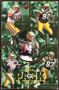 "Green Bay Packers ""The Pack"" - Costacos 1999"