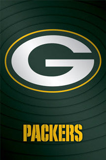 Green Bay Packers Official NFL Team Logo Poster - Costacos Sports