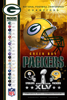 "Green Bay Packers ""Super Season 2011"" Poster - Action Images"