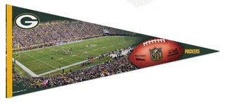 Green Bay Packers Gameday EXTRA-LARGE Premium Felt Pennant - Wincraft