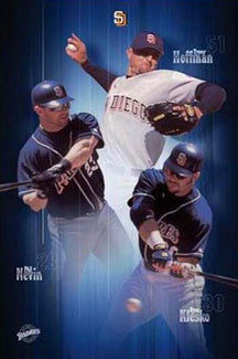 "San Diego Padres ""Superstars"" - Costacos 2002"