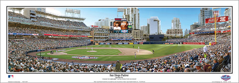 "San Diego Padres ""Opening Day"" Petco Park Panoramic Poster Print - Everlasting Images"