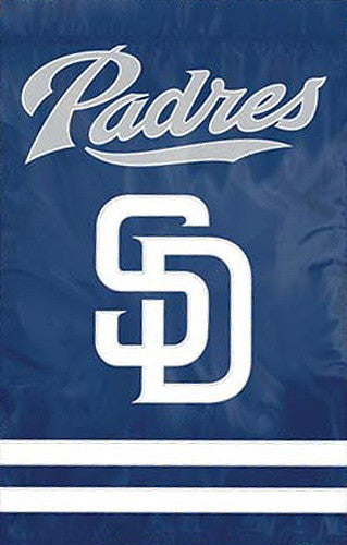 San Diego Padres Official MLB Baseball Premium Applique Team Banner Flag - Party Animal
