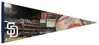 "San Diego Padres ""Gameday"" Petco Park EXTRA-LARGE Premium Pennant - Wincraft Inc."
