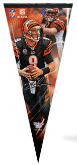 "Carson Palmer ""Big-Time"" EXTRA-LARGE Premium Felt Pennant - Wincraft"