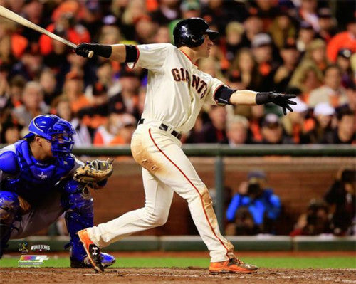 "Joe Panik ""Breakout"" (2014 World Series) Premium Poster - Photofile 16x20"