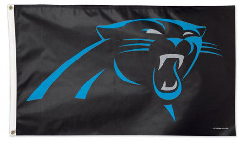 Carolina Panthers Official NFL Football Deluxe-Edition 3'x5' Flag - Wincraft Inc.